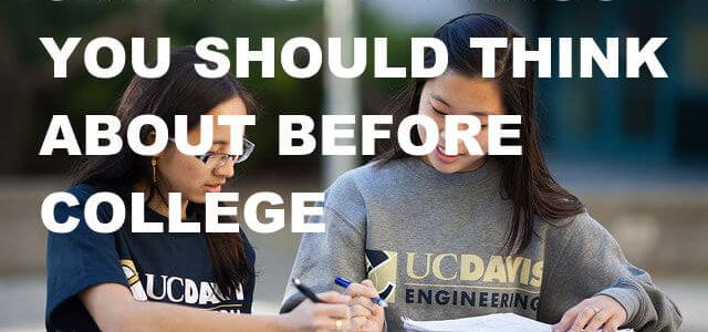 5 Random Things You Should Think About Before Going To College