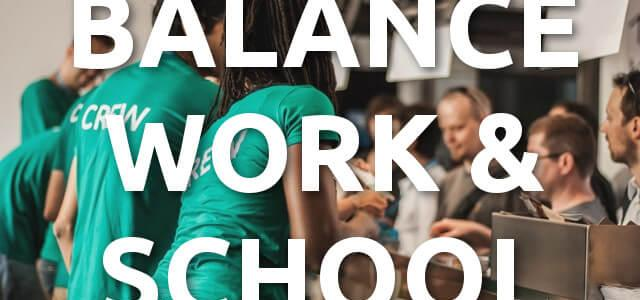 Work & School – How To Manage This Uncomfortable Balance – Q/A